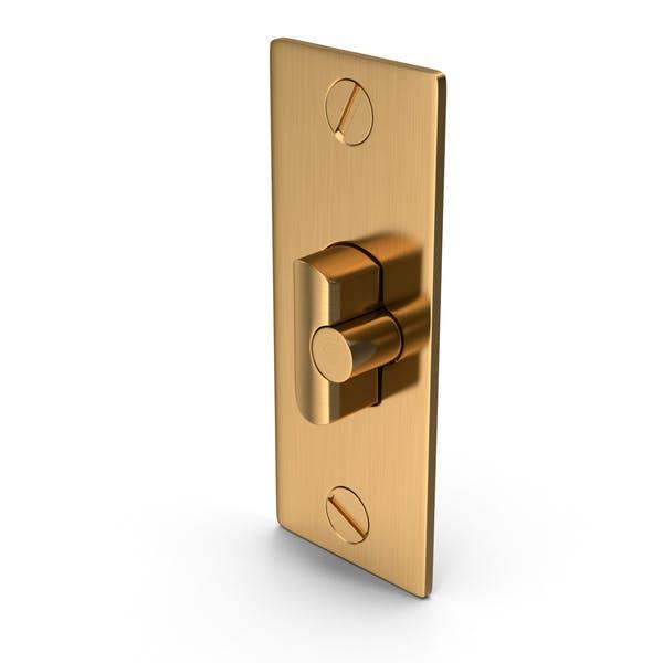 Дверной замок Deadlatch Золотой с винтом
