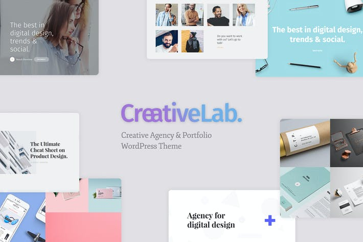 Thumbnail for Creative Lab - Creative Studio & Agency Portfolio