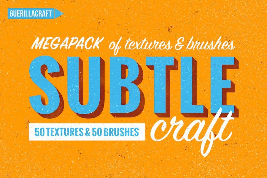Subtlecraft - textures and brushes