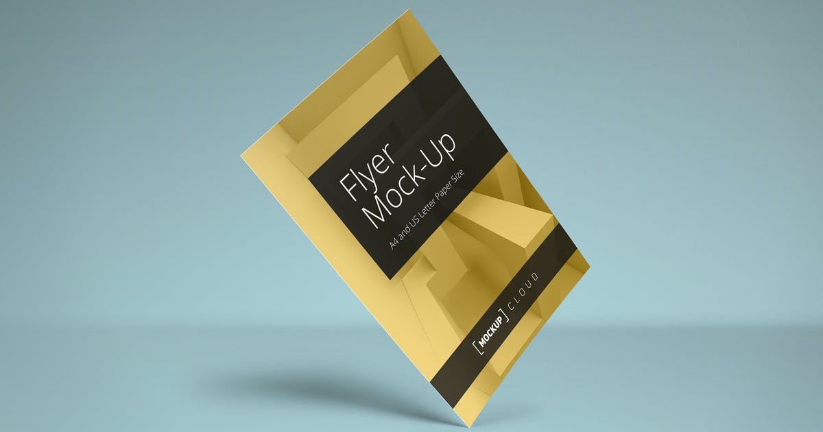 Download Flyer Mockup Set by Genetic96