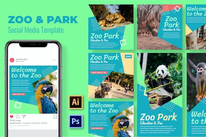 Thumbnail for Park&Zoo Social Media