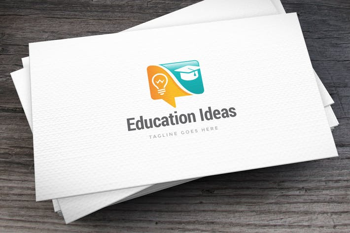 Thumbnail for Education Ideas Logo Template