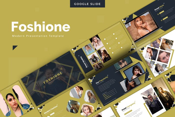 Thumbnail for Foshione - Google Slides Template