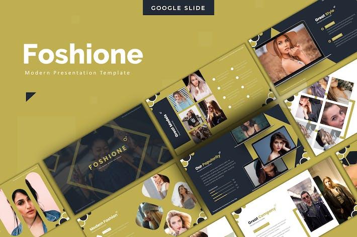 Foshione - Google Slides Template