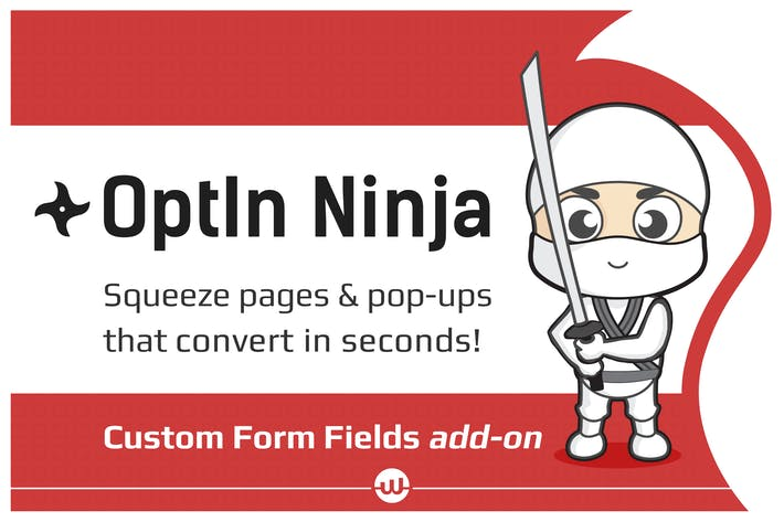 Thumbnail for Custom Form Fields add-on for OptIn Ninja