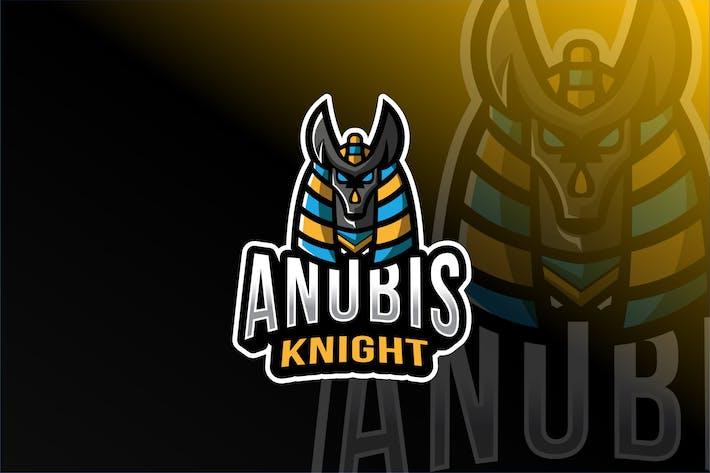 Thumbnail for Anubis Knigt Esport Logo Template