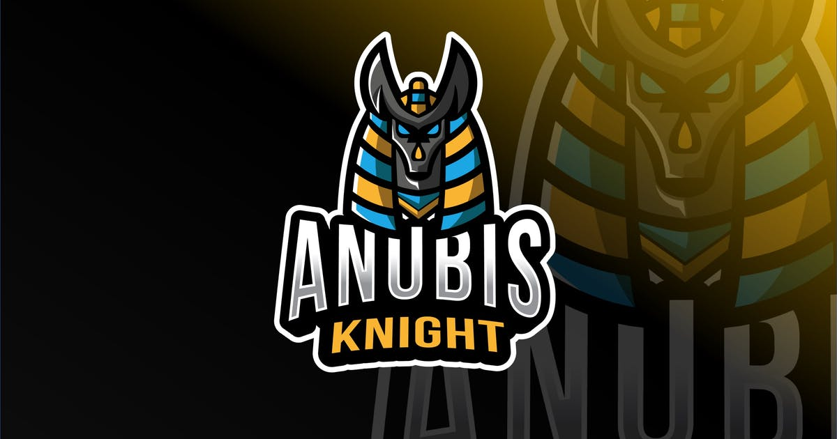 Download Anubis Knigt Esport Logo Template by IanMikraz