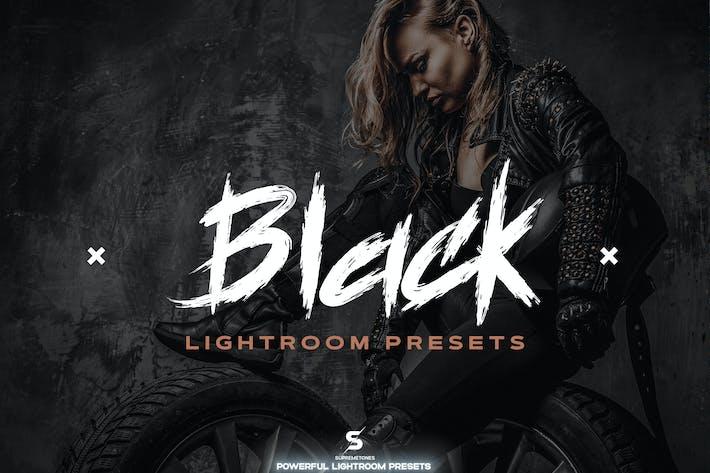 Black Lightroom Presets