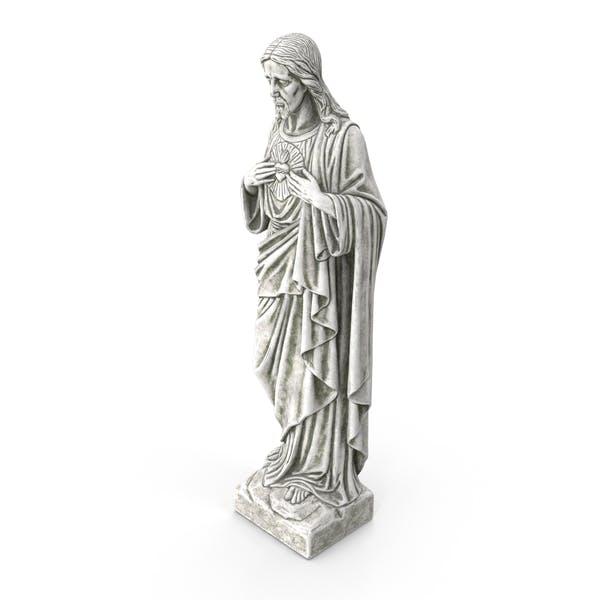 Jesus Christus Heiliges Herz Statue