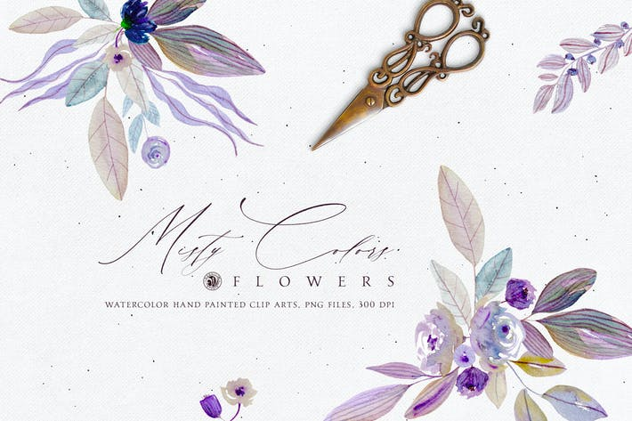 Thumbnail for Misty Colors Flowers