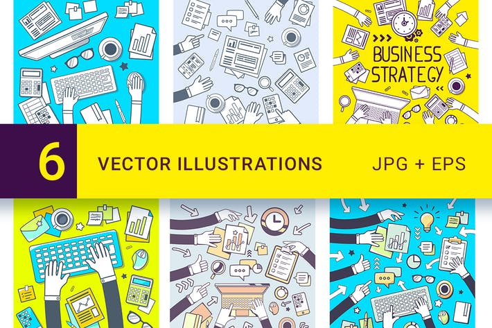 Business-Illustrationen