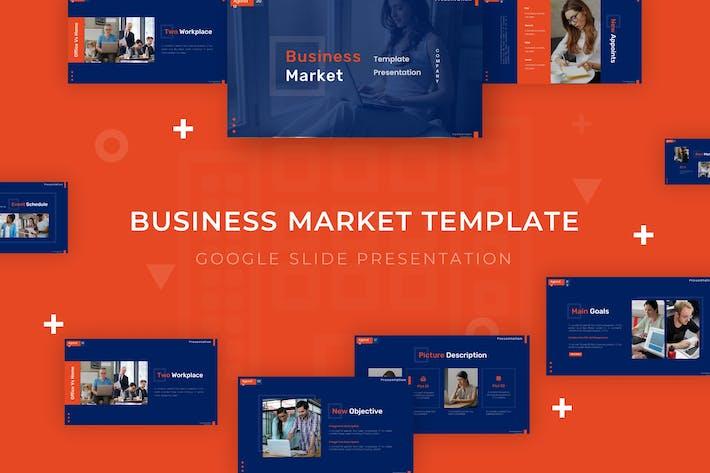 Thumbnail for Business Market - Google Slide Template