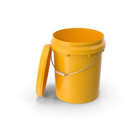 Plastic Bucket 20L with Lid
