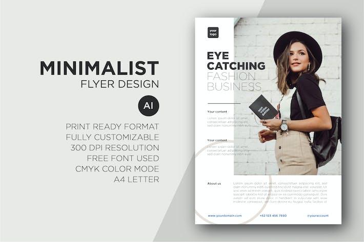 Thumbnail for Minimalist Flyer Design