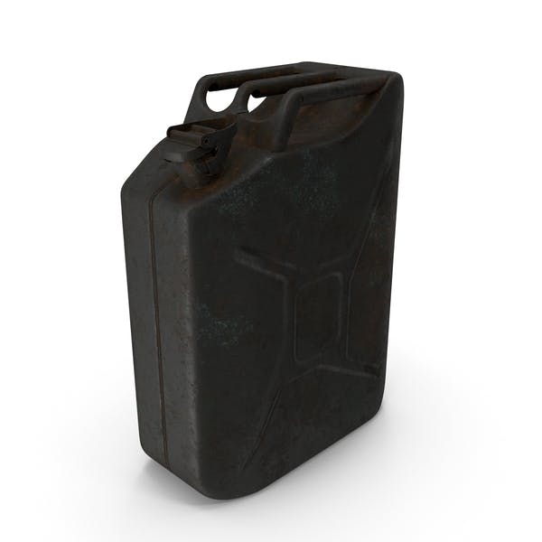 Canister Rusted Black