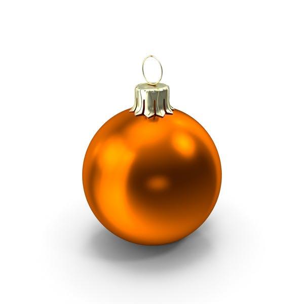 Thumbnail for Standing Orange Christmas Ornament