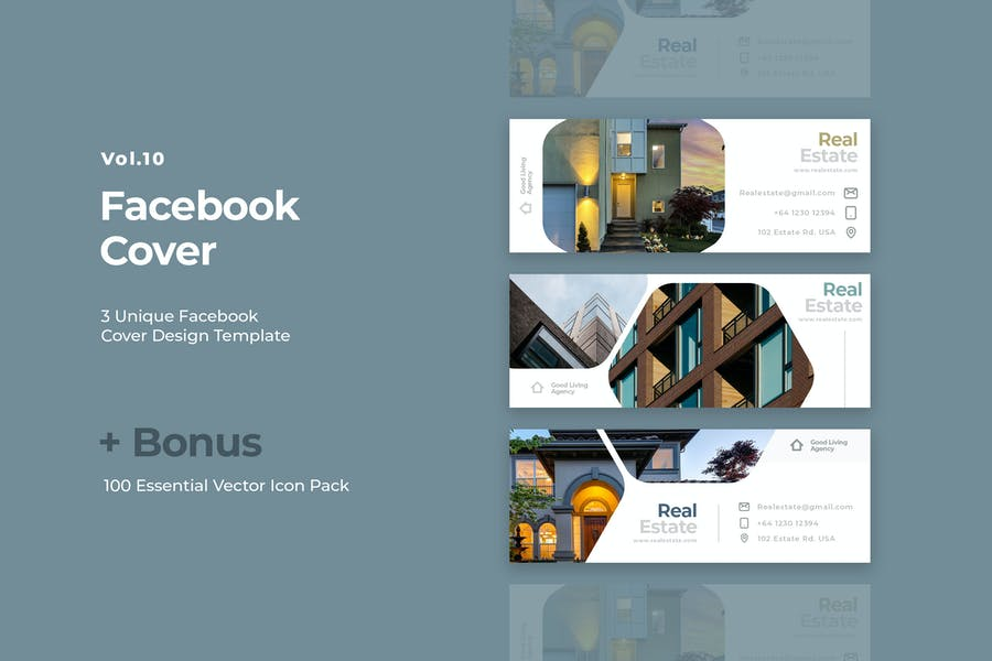 Facebook Cover Vol.10