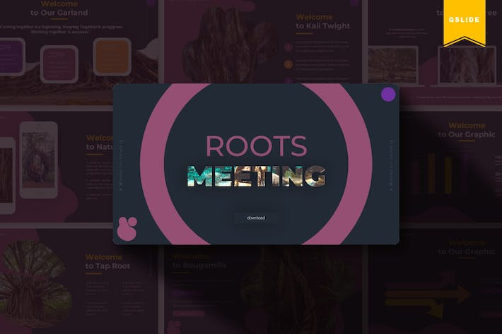 Thumbnail for The Roots | Google Slides Template