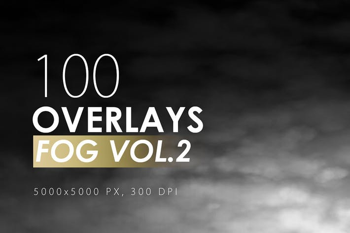 Thumbnail for 100 Fog Overlays Vol. 2
