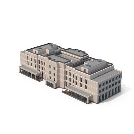 Edificio Hospital Beige