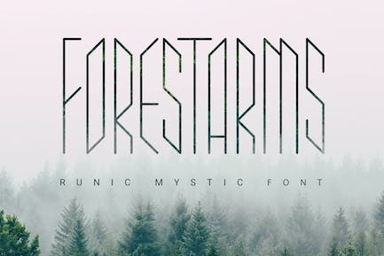 Forestarms | mystic font