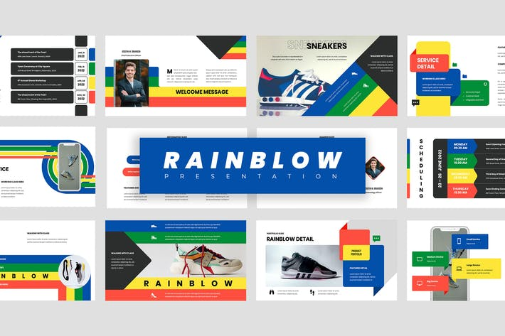 Thumbnail for Rainblow - Презентация Googleslide