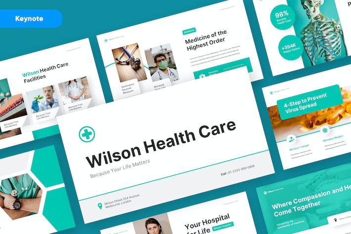 WILSON - Medical and Health Keynote Template
