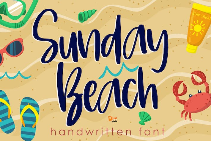 Thumbnail for Sunday Beach - Handwritten Font