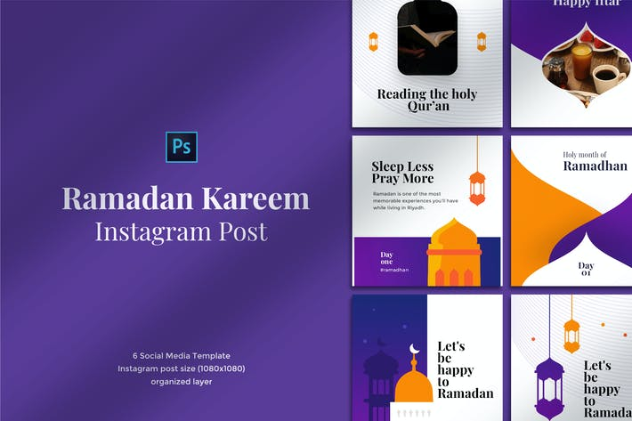 Thumbnail for Ramadan Kareem Instagram Post