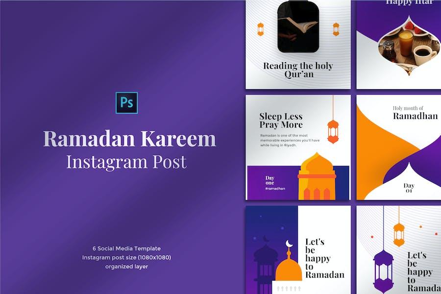 Ramadan Kareem Instagram Post