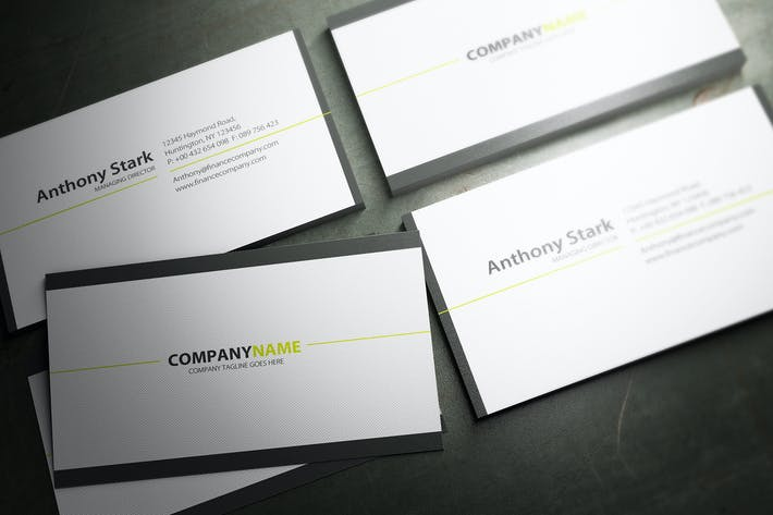 Cover Image For Minimal Business Card Design