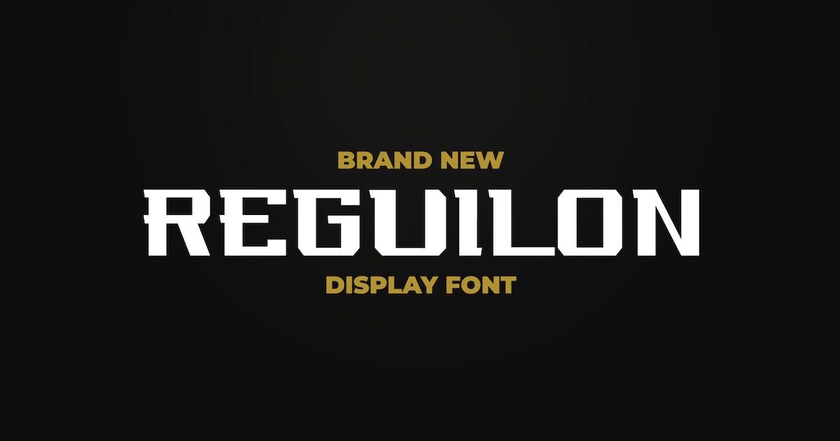 Download REGUILON SPORT DISPLAY FONT by ovozdigital