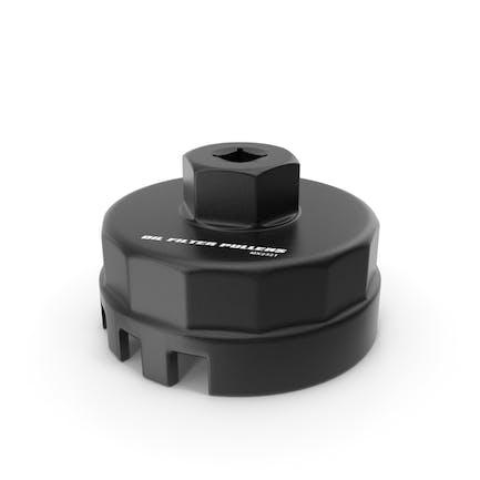Oil Filter Wrench Black