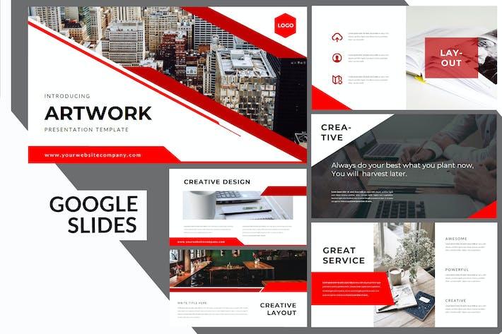 Thumbnail for Artwork Business - Google Slides Presentation