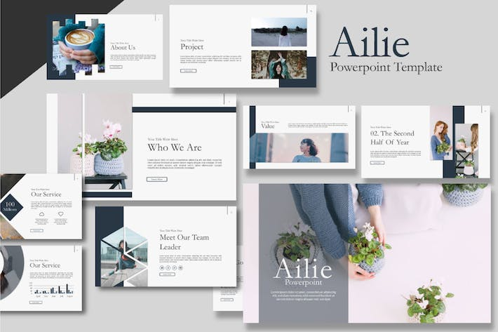 Thumbnail for Ailie Powerpoint Template