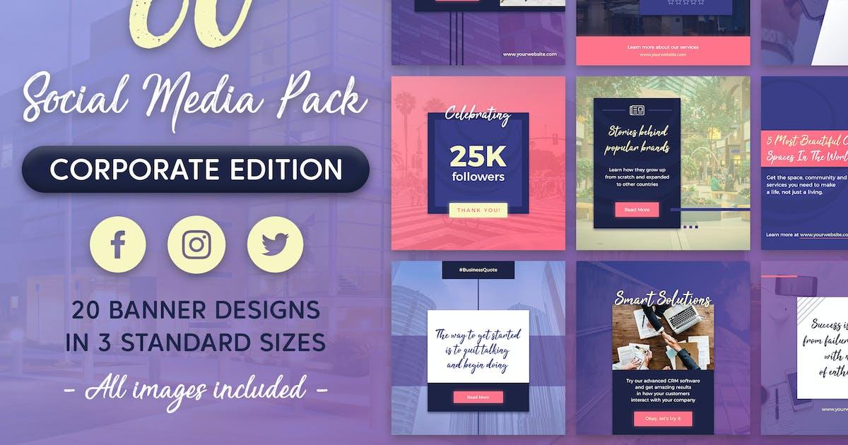 Download Social Media Pack by brandifystudio