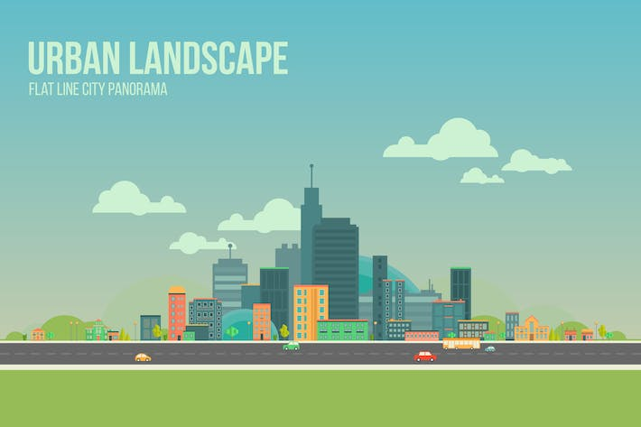 Thumbnail for Urban Landscape Background