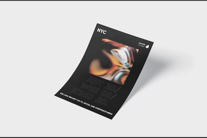 Thumbnail for Art Event Flyer Template