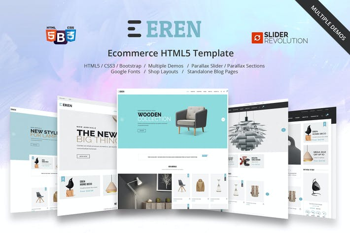 Thumbnail for Eren - Multipurpose Ecommerce Template