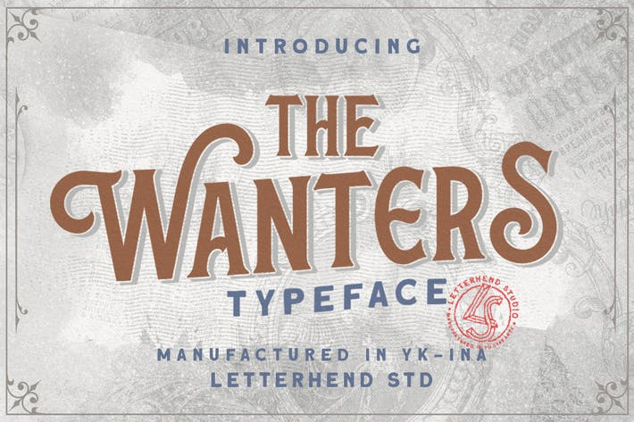 Thumbnail for The Wanters - Display Typeface