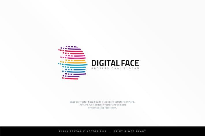 Cover Image For Virtual Human Head Logo