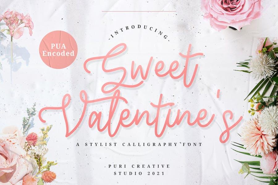 Sweet Valentine's - Stylish Calligraphy Font