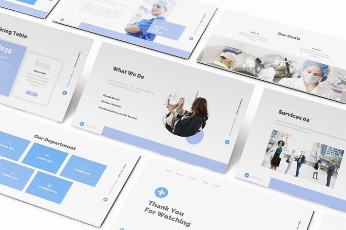 Thumbnail for Medical Powerpoint Template