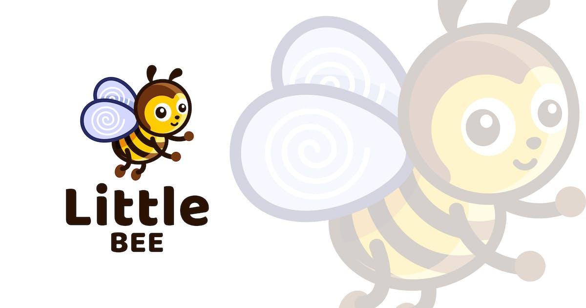 Download Little Bee Kids Cute Logo Template by IanMikraz