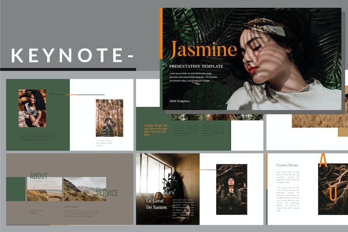 Thumbnail for Jasmine Lookbook - Fashion Keynote Template
