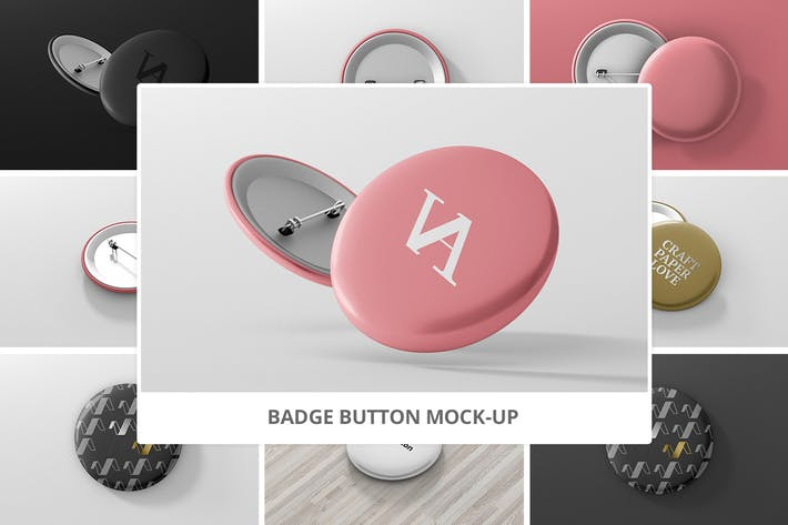 Thumbnail for Badge Button Mock-Ups