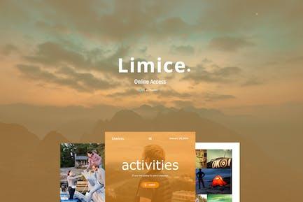 Limice - Modèle d'e-mail Responsive