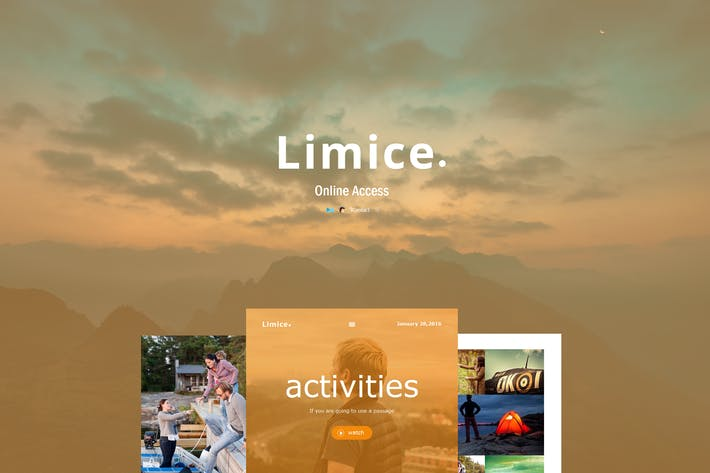 Thumbnail for Limice - Responsive E-mail Template