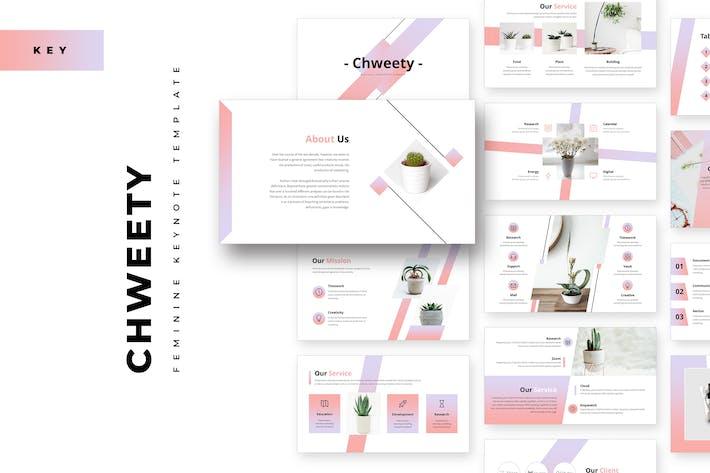 Chweety Feminine Keynote Template