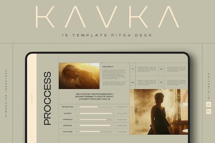 KAVKA - Pitch Deck Template Kit